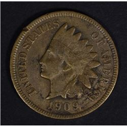 1909-S INDIAN HEAD CENT FINE SOME POROSITY