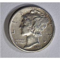 1926-S MERCURY DIME XF