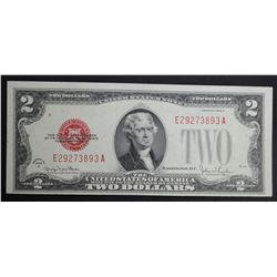 1928 G $2 LEGAL TENDER RED SEAL FR1508