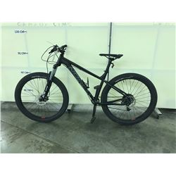 BLACK NORCO FLUID FRONT SUSPENSION 10 SPEED MOUNTAIN BIKE