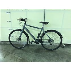 GREY CANNONDALE QUICK CX 21 SPEED ROAD BIKE