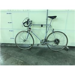 GREY FUJI 10 SPEED ROAD BIKE CONDITION ISSUES