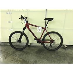 RED DEVINCI COYOTE 24 SPEED FRONT SUSPENSION MOUNTAIN BIKE