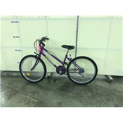 PURPLE FALCON 18 SPEED KIDS BIKE