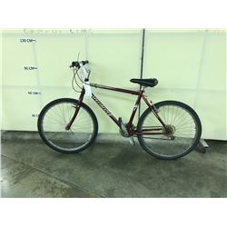 RED SPECIALIZED 21 SPEED MOUNTAIN BIKE