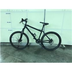 BLACK NO NAME 18 SPEED FRONT SUSPENSION MOUNTAIN BIKE