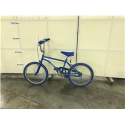 BLUE KIDS BMX BIKE