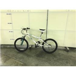 WHITE NAKAMURA  FRONT SUSPENSION 6 SPEED KIDS BIKE