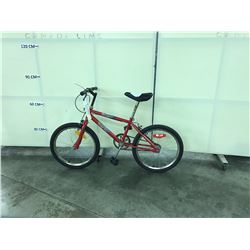 RED STREET KING KIDS BIKE