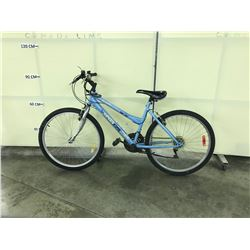 LIGHT BLUE SPORTEK 21SPEED MOUNTAIN BIKE