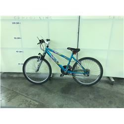 TEAL TECH TEAM FRONT SUSPENSION 21 SPEED MOUNTAIN BIKE
