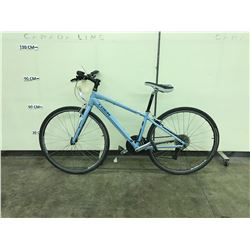 LIGHT BLUE TREK 24 SPEED MOUNTAIN BIKE