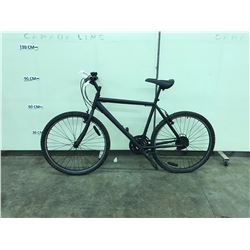 BLACK NO NAME 21 SPEED MOUNTAIN BIKE