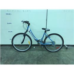 BLUE DIAMOND BACK 21 SPEED FRONT SUSPENSION LADIES MOUNTAIN BIKE