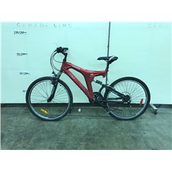 RED OCTANE BOSS 21 SPEED MOUNTAIN BIKE