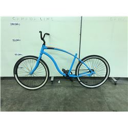 BLUE GIANT SINGLE SPEED CRUISER BIKE NO SEAT