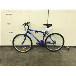 BLUE SUPERCYCLE 21 SPEED MOUNTAIN BIKE