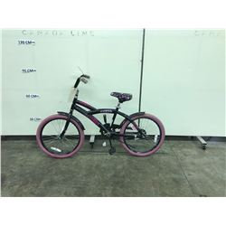 BLACK AVIGO KIDS BIKE
