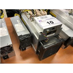 BITMAIN ANTMINER D3 SUBMODEL 17.0G 17 GH/S CRYPTOCURRENCY MINER, WITH POWER SUPPLY