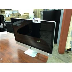 APPLE IMAC, 27'', 3.06 GHZ PROCESSOR, 1 TB HDD, NO KEYBOARD, POWER SUPPLIES OR ACCESSORIES, MODEL