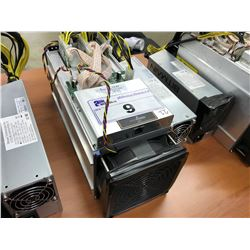 BITMAIN ANTMINER S9 13.5 TH/S CRYPTOCURRENCY MINER, WITH POWER SUPPLY