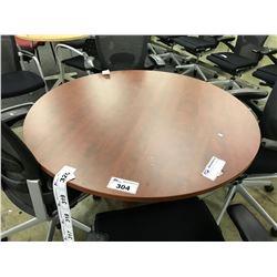 CHERRY 4' ROUND TABLE