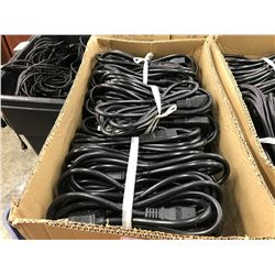 BOX OF POWER CABLES