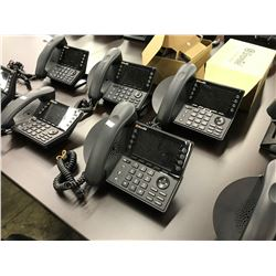 LOT OF 5 SHORETEL IP HANDSETS