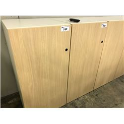KNOLL ANCHOR 4' PERSONAL STORAGE CABINET