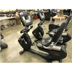LIFE FITNESS 95R RECUMBENT BIKE WITH DIGITAL CONTROLS