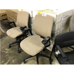 LOT OF 8 OFFICE CHAIRS