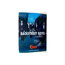 Backstreet Boys Signed Poster