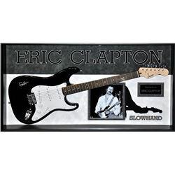 Eric Clapton Autographed Guitar