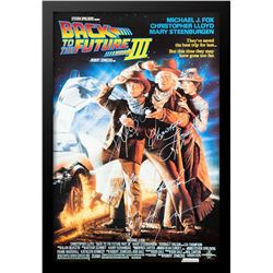 BACK TO THE FUTURE 3 Signed Movie Poster