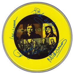 Foreigner  Signed Drum Head