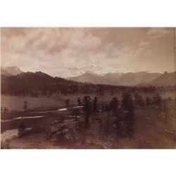 William Henry Jackson Longs Peak Photograph c.1873