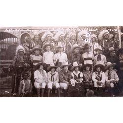 Sells Floto Circus Buffalo Bills Wild West Photos