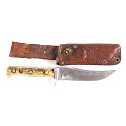 Puma Skinner Fixed Blade Knife & Sheath