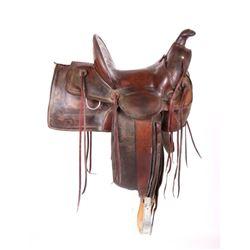 W. B. Ten Eyck Saddle Montana Territory c. 1880's