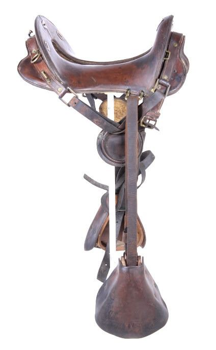 McClellan M1904 U S  Military Cavalry Saddle