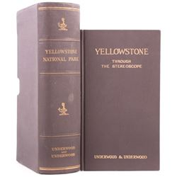 Yellowstone National Park Stereoview Set c.1909