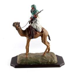 "Original G.C. Wentworth ""Arab on Camel"" Sculpture"