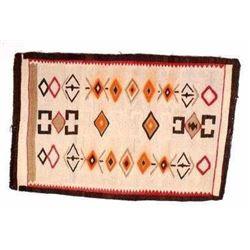 Teec Nos Pos Navajo Woven Rug