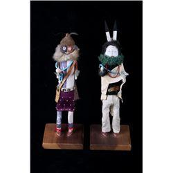 Hopi Indian Cottonwood Kachina Dolls 1950's