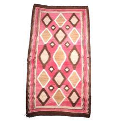 Navajo Ganado Pattern Wool Rug c. 1800-1900