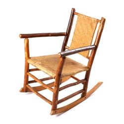 Old Hickory Rocking Chair circa 1930