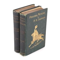 Personal Memoirs of P.H. Sheridan 1st Edition 1888