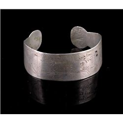 Navajo First Phase Silver Trade Bracelet 19th C.
