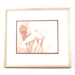 Original Philip Pearlstein Nude Women Lithograph