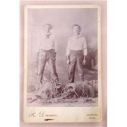 Cowboy R. Dawes Bozeman Montana Photograph